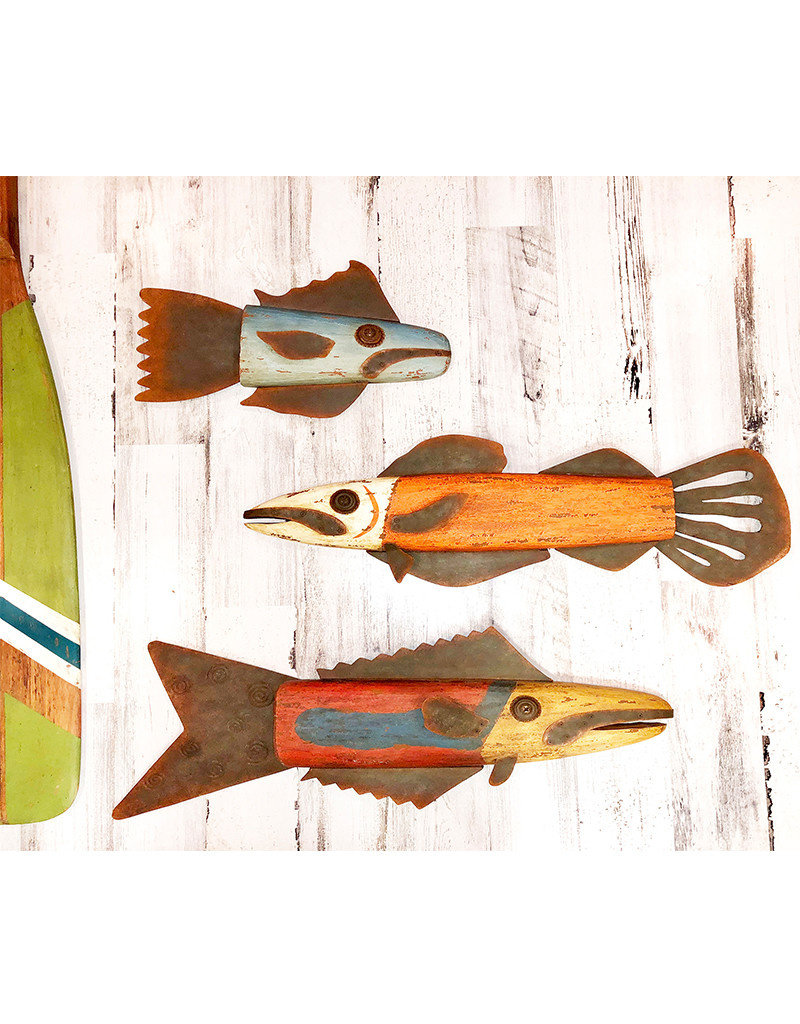 Wooden and Metal Snapper