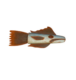 Wooden and Metal Grouper