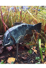 Fish in the Garden Ceramic Garden Koi