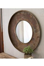 Repurposed Metal Top with Mirror