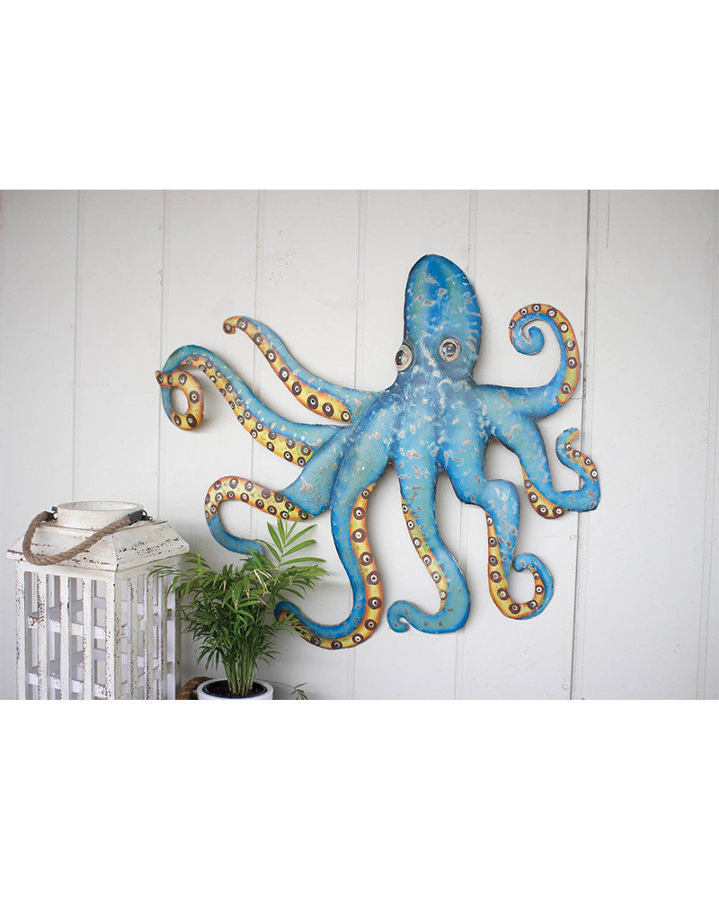 Recycled Metal Octopus