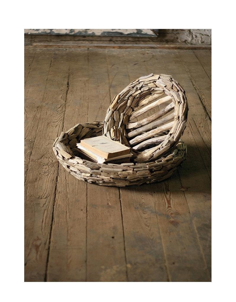 Set of 2 Large Driftwood Bowls