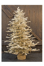 Antique Silver Pine Tree