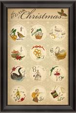 The Artwork of Kolene Spicher The 12 Days of Christmas Framed Print