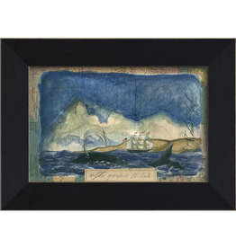 The Artwork of Kolene Spicher The Perfect Whale Framed Print