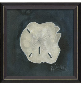 The Artwork of Kolene Spicher Sand Dollar Seashell Framed Print