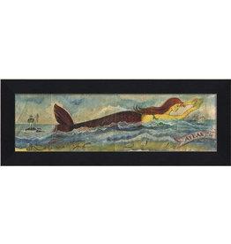 Mermaid at the  Atlantic Shore Framed Print