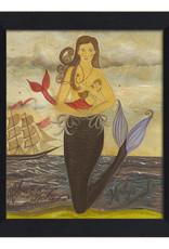 Monday's Mermaid Framed Print