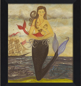 The Artwork of Kolene Spicher Monday's Mermaid Framed Print