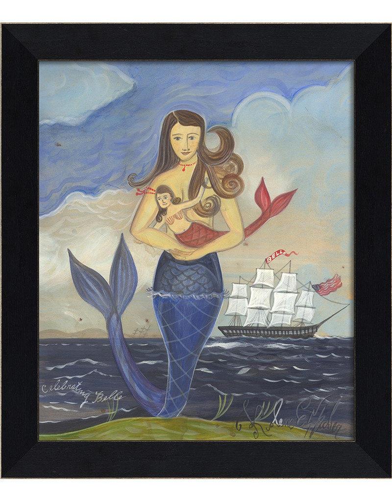 The Artwork of Kolene Spicher Celebrating Belle Framed Print
