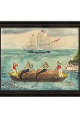 The Artwork of Kolene Spicher Mermaid Trading Company Framed Print