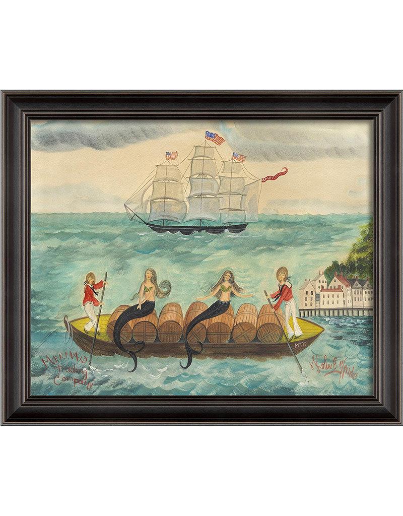 Mermaid Trading Company Framed Print