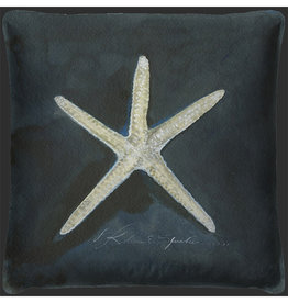 The Artwork of Kolene Spicher Starfish Pillow 20x20