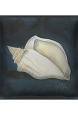The Artwork of Kolene Spicher Conch Shell Pillow 20x20