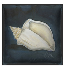 The Artwork of Kolene Spicher Conch Shell Pillow 20x20