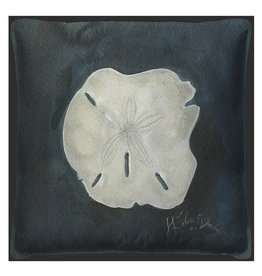 The Artwork of Kolene Spicher Sand Dollar Seashell  Pillow 20x20