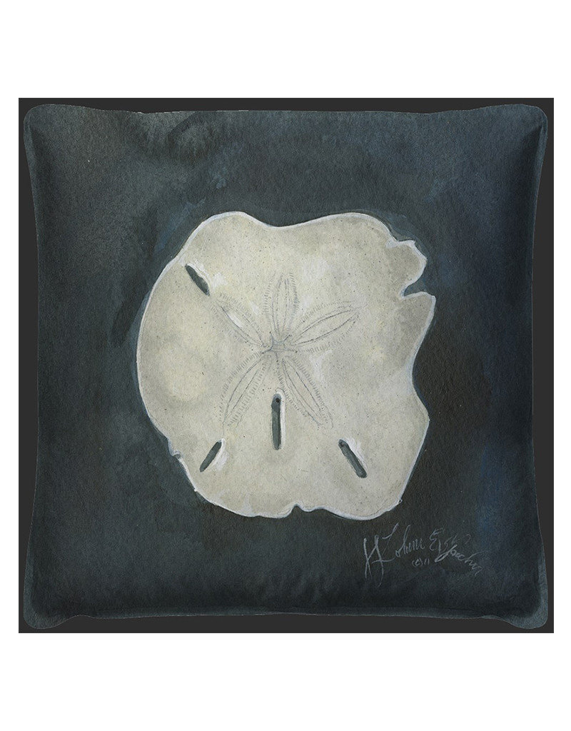Sand Dollar Seashell  Pillow 20x20