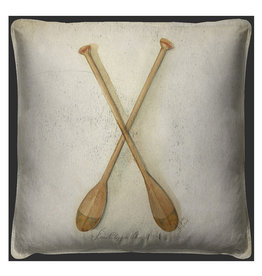 Clipper Ship Oars Pillow 20x20