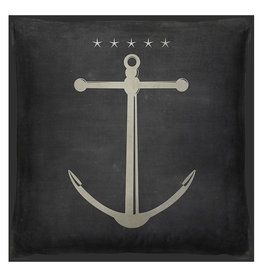 The Artwork of Kolene Spicher Five Star Anchor  Pillow 20x20
