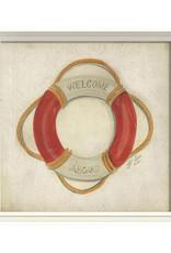 The Artwork of Kolene Spicher Life Preserver Framed Print