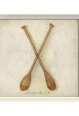 The Artwork of Kolene Spicher Paddles Framed Print