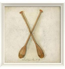 Paddles Framed Print