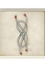 The Artwork of Kolene Spicher Rope Framed Print