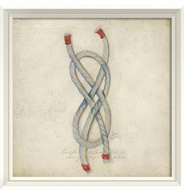 The Artwork of Kolene Spicher Rope Framed Print