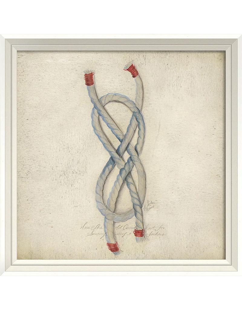 Rope Framed Print