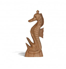 Hand Carved Seahorse Jempinis Wood