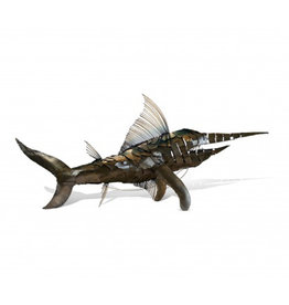 Marlin Metal Sculpture