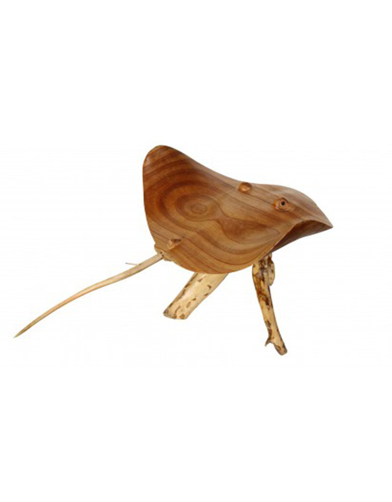 Hand Carved Stingray Jempinis Wood