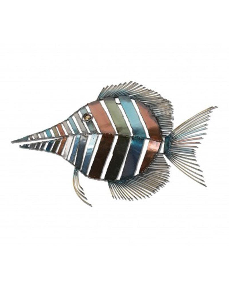 Tang Fish Wall Sculpture