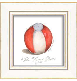 Beach Ball Framed Print