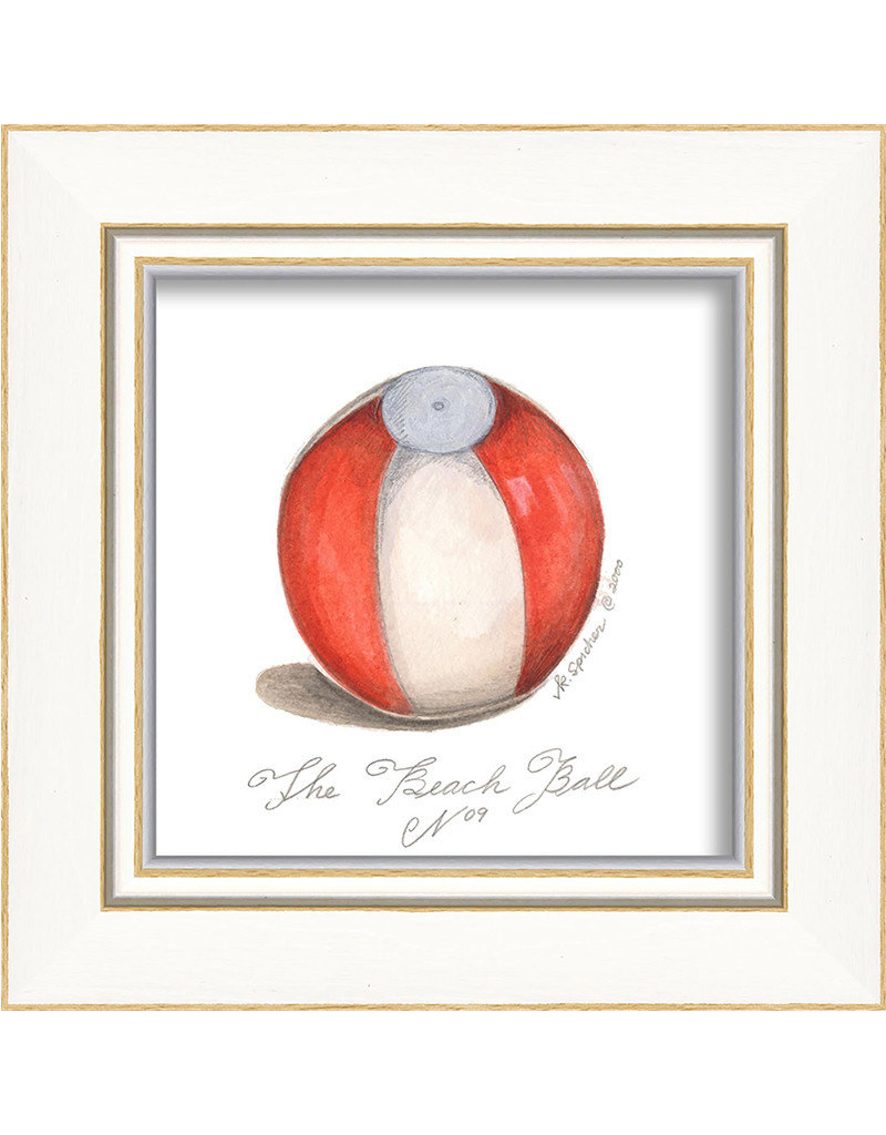 The Artwork of Kolene Spicher Beach Ball Framed Print