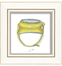 Beach Goggles Framed Print