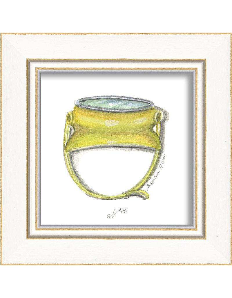 The Artwork of Kolene Spicher Beach Goggles Framed Print