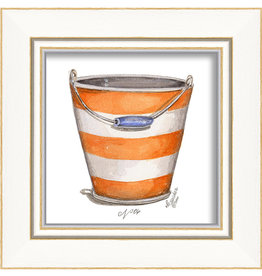 Beach Pail Framed Print