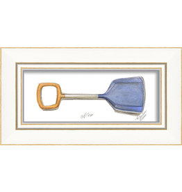 Beach Shovel Framed Print