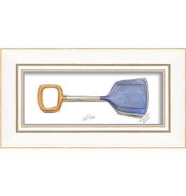 The Artwork of Kolene Spicher Beach Shovel Framed Print