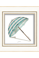 Beach Umbrella Framed Print