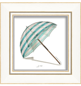 Beach Umbrella Framed Print
