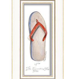 The Artwork of Kolene Spicher Flip Flop Framed Print