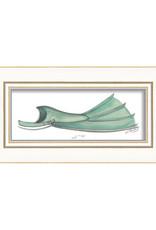 The Artwork of Kolene Spicher Green Flipper Framed Print