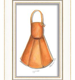 The Artwork of Kolene Spicher Orange Flipper Framed Print