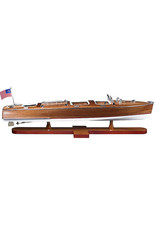 Authentic Models America Triple Cockpit Model Speedboat