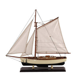 Authentic Models America 1930s Classic Yacht Model Sailboat