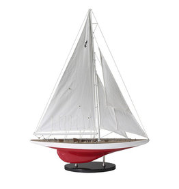 "Authentic Models America J-Yacht ""Ranger"" 1937 Model Sailboat"
