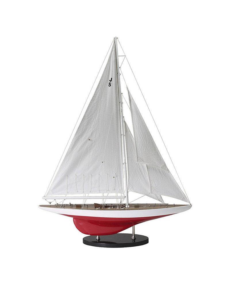 """J-Yacht """"Ranger"""" 1937 Model Sailboat"""