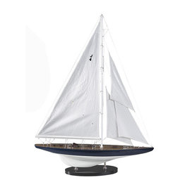Authentic Models America J-Yacht Rainbow 1934 Model Sailboat